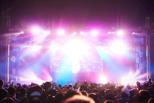 屋内イベント照明